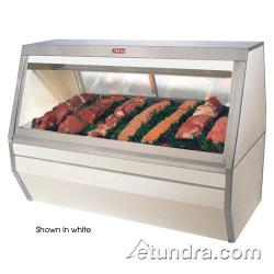 "Howard McCray - SC-CMS35-6-B - 71"" Black Double Duty Red Meat Case image"