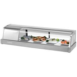 Turbo Air - SAK-50L-N - Sakura 50 in Sushi Display Case w/ Left Compressor image