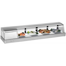 Turbo Air - SAK-60L-N - Sakura 60 in Sushi Display Case w/ Left Compressor image