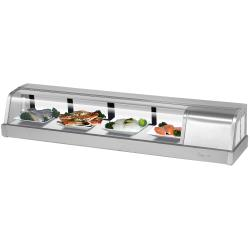 Turbo Air - SAK-60R-N - Sakura 60 in Sushi Display Case w/ Right Compressor image