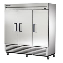 True - T-72F-HC - 72 cu ft Reach-In Freezer w/ 3 Swing Doors image