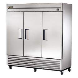 True - TS-72F - TS-Series 3 Door Reach-In Freezer image