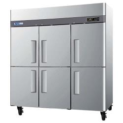 Turbo Air - M3F72-6 - M3 Series (6) 1/2 Door Reach-In Freezer image