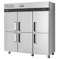 Turbo Air - M3F72-6-N - M3 Series (6) 1/2-Door Reach-In Freezer image