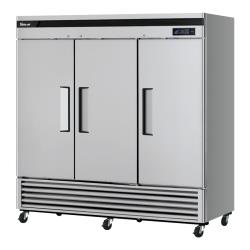Turbo Air - TSF-72SD-N - Super Deluxe 3-Door Reach-In Freezer image