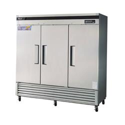 Turbo Air - TSF-72SD - Super Deluxe 3 Door Reach-In Freezer image