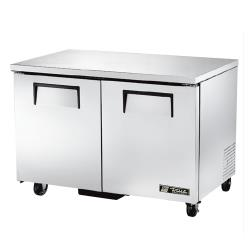 "True - TUC-48F-HC - 2 Door 48"" Undercounter Freezer image"