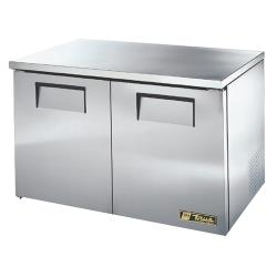 "True - TUC-48F-LP-HC - Low Profile 2 Door 48"" Undercounter Freezer image"
