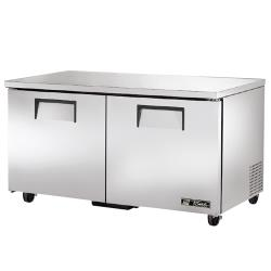 "True - TUC-60F - 2 Door 60"" Undercounter Freezer image"