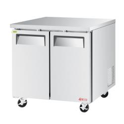 Turbo Air - EUF-36-N - 36 in 2-Door E-Line Undercounter Freezer image