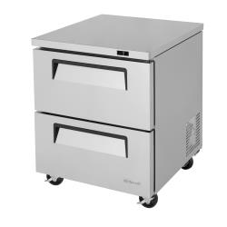 Turbo Air - TUF-28SD-D2-N - 28 in 2-Drawer Undercounter Freezer image