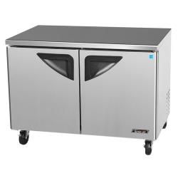 Turbo Air - TUF-48SD - Super Deluxe 2 Door 48 Undercounter Freezer image