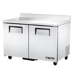 "True - TWT-48F-HC - 2 Door 48"" Worktop Freezer image"