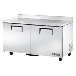 "True - TWT-60F - 2 Door 60"" Worktop Freezer image"