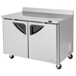 Turbo Air - TWF-48SD-N - Super Deluxe 2-Door 48 in Worktop Freezer image