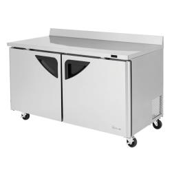 Turbo Air - TWF-60SD-N - Super Deluxe 2-Door 60 in Worktop Freezer image