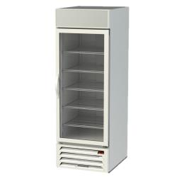 Beverage Air - MMF23-1-W-LED - 23 cu ft White 1 Door MarketMax Frozen Merchandiser image