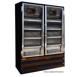 Howard McCray - GF48-B - 48 cu ft Top Mount Black Frozen Merchandiser image