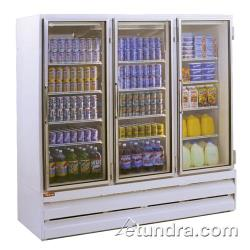 Howard McCray - GF48BM - 48 cu ft Bottom Mount White Frozen Merchandiser image
