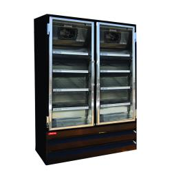 Howard McCray - GF48BM-B - 48 cu ft Bottom Mount Black Frozen Merchandiser image