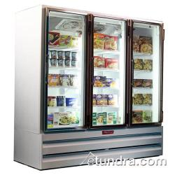 Howard McCray - GF65BM - 65 cu ft Bottom Mount White Frozen Merchandiser image