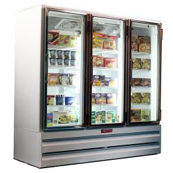 Howard McCray - GF65BM-FF - 65 cu ft Bottom Mount White Frozen Merchandiser image