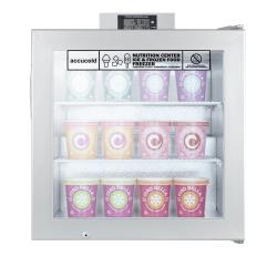 Summit - SCFU386 - Glass Door Compact Display Freezer image