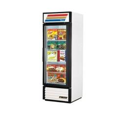 True - GDM-23F-HC-LD-RH - 23 cu ft Freezer Merchandiser w/ 1 Right Hand Swing Door image