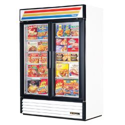 True - GDM-49F-LD - 49 cu ft Freezer Merchandiser w/ 2 Swing Doors image