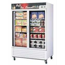 Turbo Air - TGF-49FE - Glass Door Freezer w/ 2 Swing Doors image