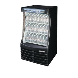 Beverage Air - BZ13-1-B - 30 in Black Open-Air Curtain Merchandiser image