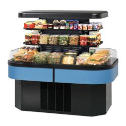 "Federal - IMSS60SC-2 - 60"" x 55"" Refrigerated Island Merchandiser image"