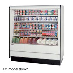 "Federal - RSSD-678SC - 71"" x 78"" High Profile Dairy Case image"