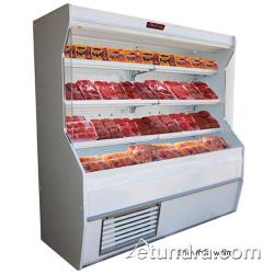 "Howard McCray - SC-M32E-6-LS-S - 74"" x 72"" Stainless Meat Merchandiser image"
