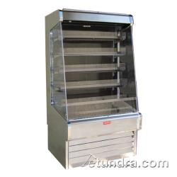 "Howard McCray - SC-OD30E-6-LS-S - 75"" x 72"" Stainless Dairy Merchandiser image"