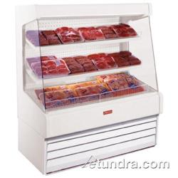 "Howard McCray - SC-OM30E-4-LS - 51"" x 72"" White Meat Merchandiser image"