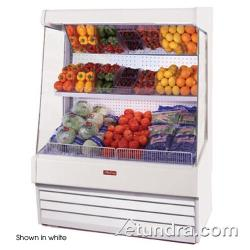 "Howard McCray - SC-OP30E-6-LS-B - 75"" x 72"" Black Produce Merchandiser image"