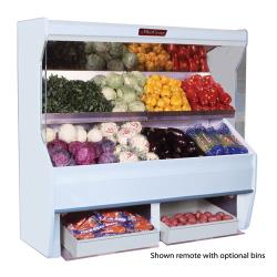 Howard McCray - SC-P32E-6S-LED - 74 in x 72 in White Produce Merchandiser image