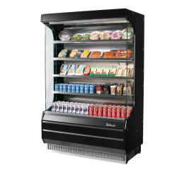 Turbo Air - TOM-40B-N - 39 in Black Open-Display Merchandiser image