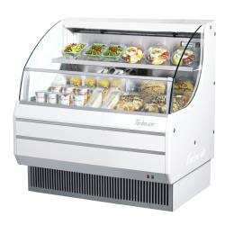 Turbo Air - TOM-40LW-N - White 39 in Low-Profile Open-Display Merchandiser image