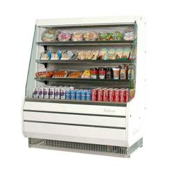 Turbo Air - TOM-40M - White 39 in Mid Height Open Display Merchandiser image