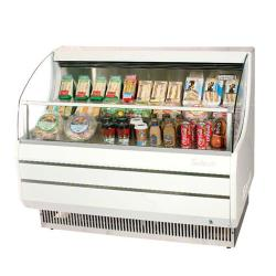 Turbo Air - TOM-40S - White 39 in Slim Line Open Display Merchandiser image