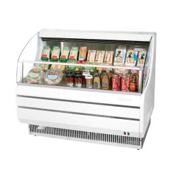 Turbo Air - TOM-40SW-N - White 39 in Slim Line Open-Display Merchandiser image