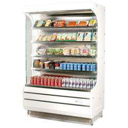 Turbo Air - TOM-50 - White 51 in Open Display Merchandiser image