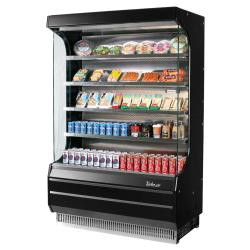 Turbo Air - TOM-50B-N - 51 in Black Open-Display Merchandiser image