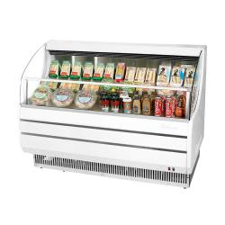 Turbo Air - TOM-50SW-N - White 51 in Slim Line Open-Display Merchandiser image