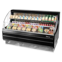 Turbo Air - TOM-60LB - 60 in Black Low Profile Open Display Merchandiser image