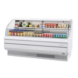 Turbo Air - TOM-75LW-N - 75 in White Low-Profile Open-Display Merchandiser image