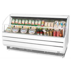 Turbo Air - TOM-75SW-N - 75 in White Slim Line Open-Display Merchandiser image