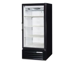 Beverage Air - LV10HC-1-B - 10 cu ft Black 1 Hinged Door LumaVue™ Merchandiser image